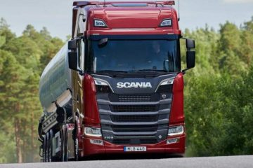 scania with new v8 engines