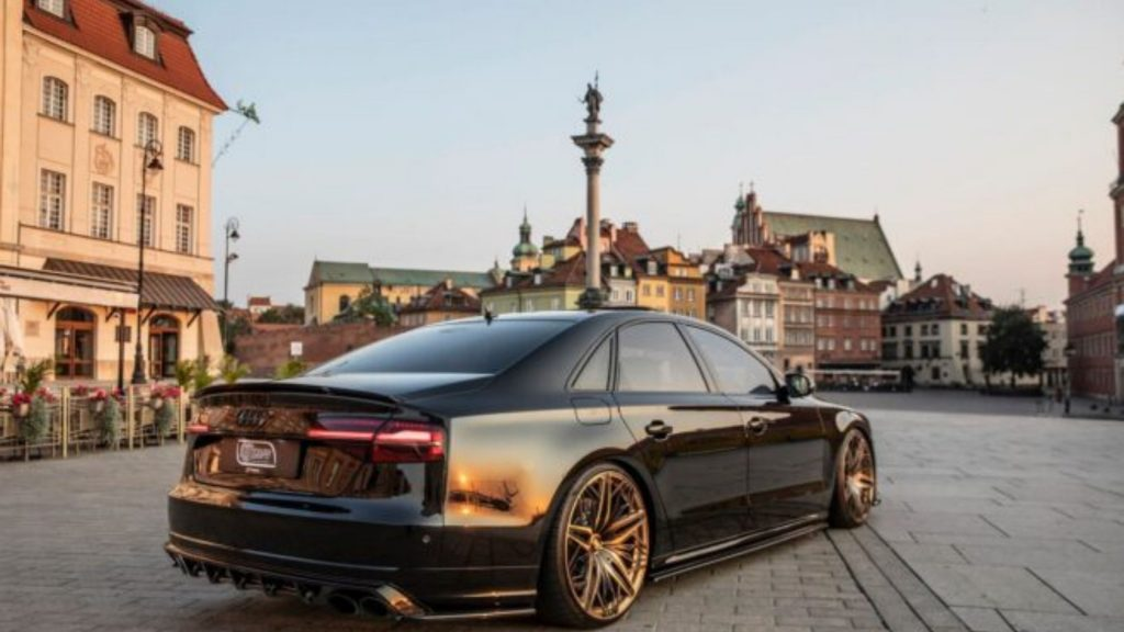 The Dark Maxton Design Audi S8 Plus