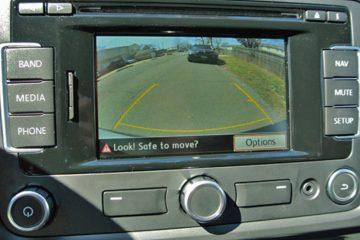 camera and parking sensors