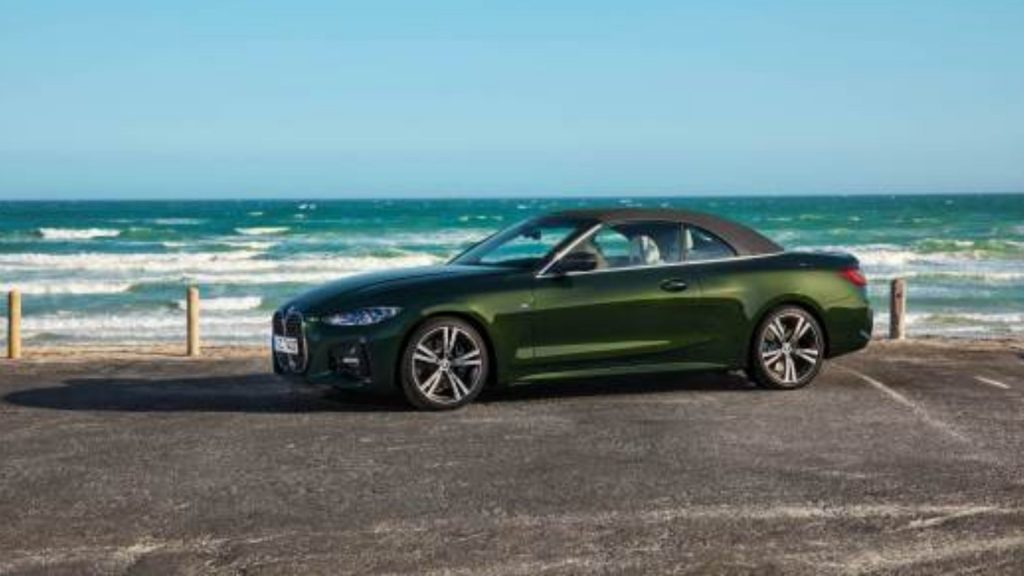 BMW 4 Series Convertible, open air with canvas roof