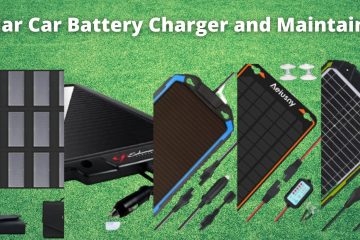 Best Solar Car Battery Charger And Maintainer