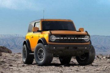 Ford Bronco Open the US configurator