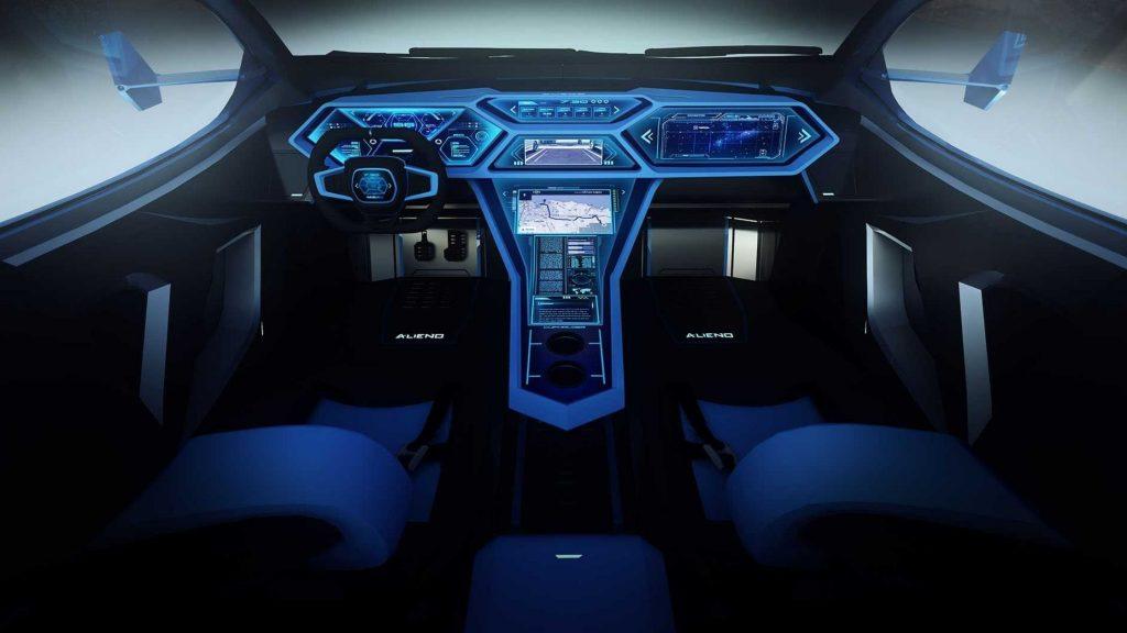 Inside Alien Arcanum the Bulgarian supercar of the future