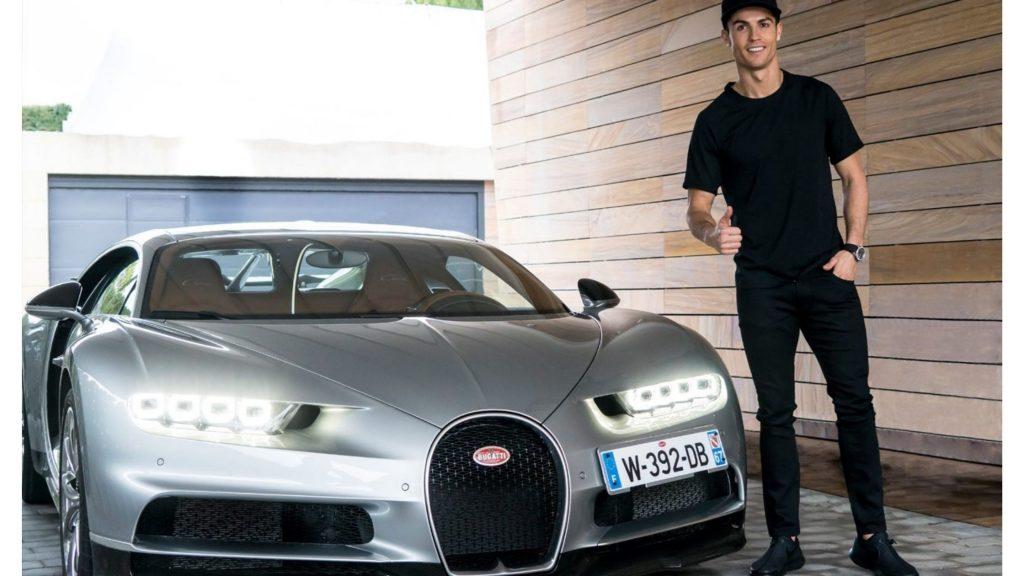 Cristiano Ronaldo cars Bugatti Chiron