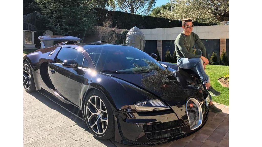Cristiano Ronaldo cars Bugatti Veyron