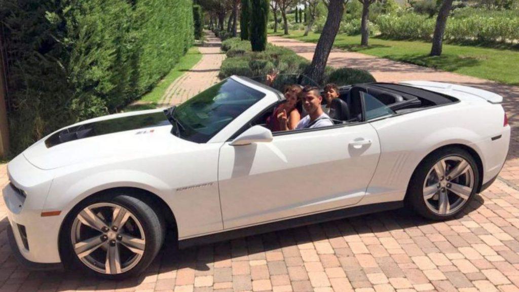 Cristiano Ronaldo cars Chevrolet Camaro