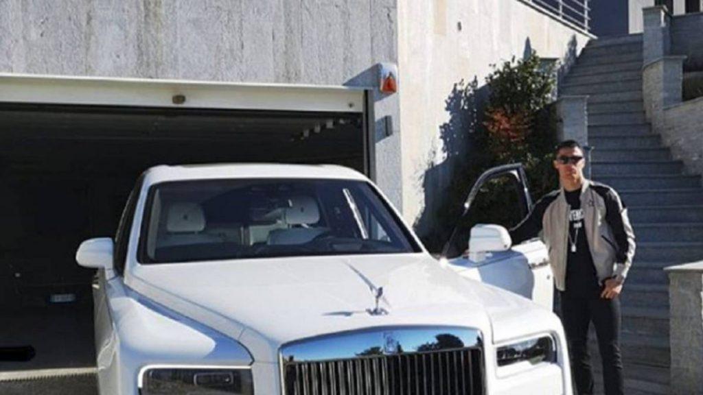 Cristiano Ronaldo cars Rolls Royce Cullinan
