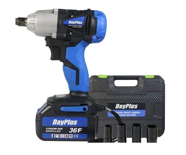 DayPlus Best Cordless Impact Wrench UK