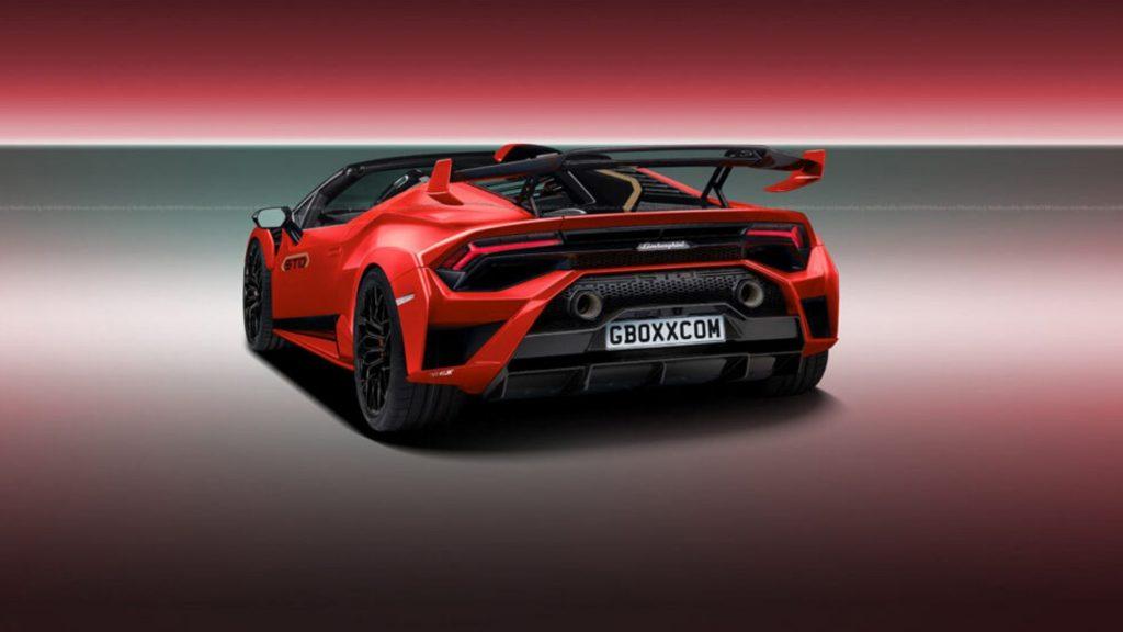 Lamborghini Huracan STO will have the Spyder version