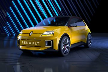 Classic Futuristic Design of Renault 5 Prototype