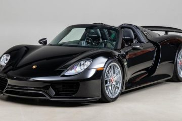 Porsche 918 Spyder: pure SOUND of its 4.6 V8 with 890 HP and 1,280 Nm