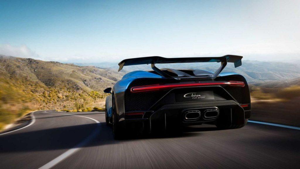 Bugatti Chiron Pur Sport on The Road