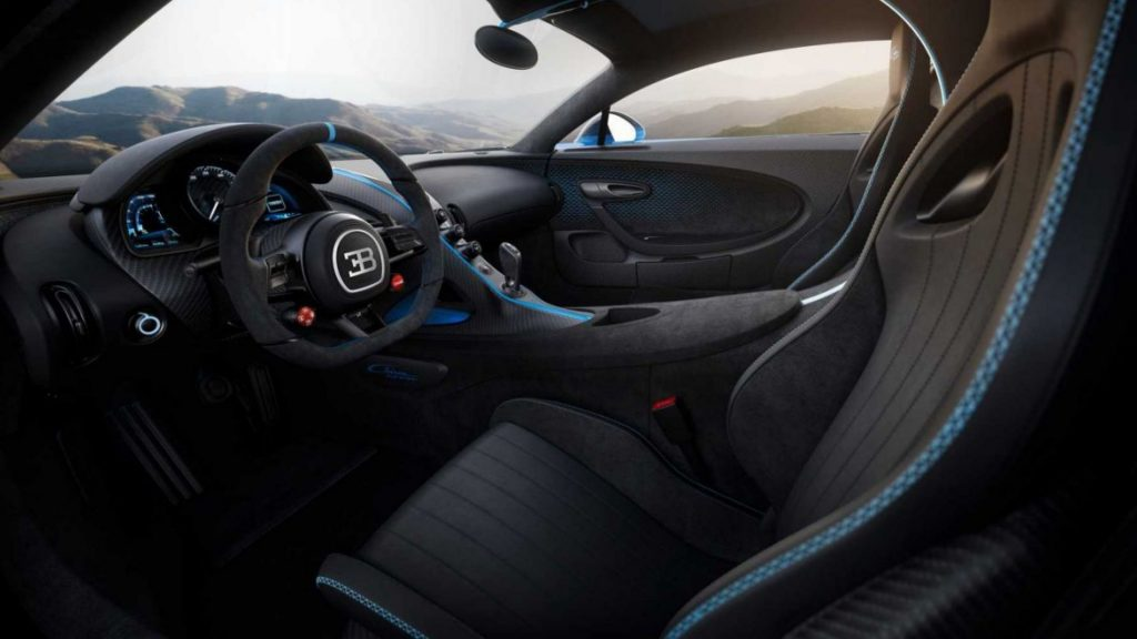 Inside Bugatti Chiron Pur Sport