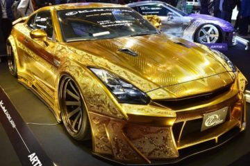 Nissan GT-R Gold Plated Edition