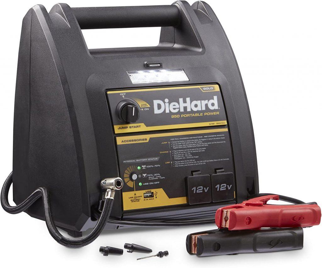 DieHard 71687 Portable Jump Starter With Air Compressor