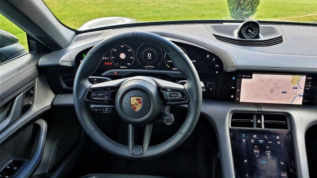 Inside Porsche Taycan