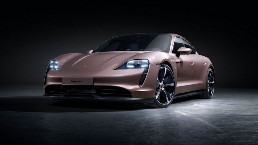 Porsche Taycan Design