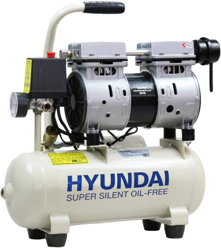 Hyundai 8 Litre Silenced Air Compressor