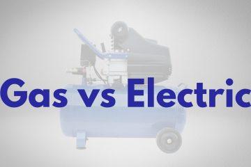 gas vs electric air compressor